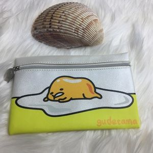 IPSY Gudetama Lazy Egg Cosmetic Bag